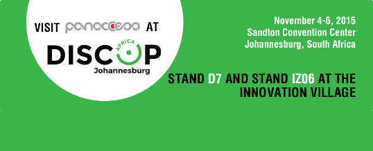 Visit Panaccess' booth at Discop, South Africa